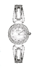 Bulova Watches - Crystal - 96L126 Bulova Ladies Watch