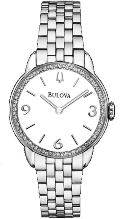 Bulova Watches- Ladies diamond watches 96R181