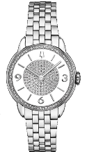 Bulova Watches- Ladies diamond watches 96R184