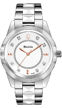 Bulova Watches- Diamond - Bulova Ladies Watch 98P135