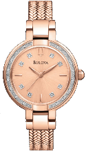 Bulova Watches- Diamond - Bulova Ladies Watch 98R179
