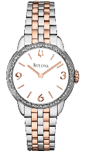 Bulova Watches- Diamond - Bulova Ladies Watch 98R182