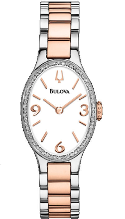 Bulova Watches- Diamond - Bulova Ladies Watch 98R190
