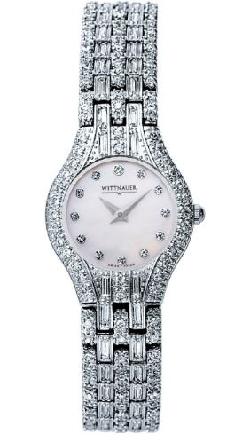Wittnauer Watches Replacement Watch Band - 16968 Wittnauer Krystal Ladies Watch 10L02