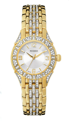 Wittnauer Watches - 12L100 Wittnauer Crystal Ladies Watch
