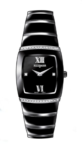Wittnauer Watches - Wittnauer Ceramic Ladies Watch 12R32 -SB