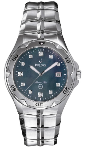 Bulova Marine Star Watch - Bulova Men's Watches 96D09