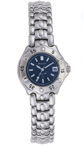Bulova Marine Star Watch - Bulova Ladies Watch  96M12