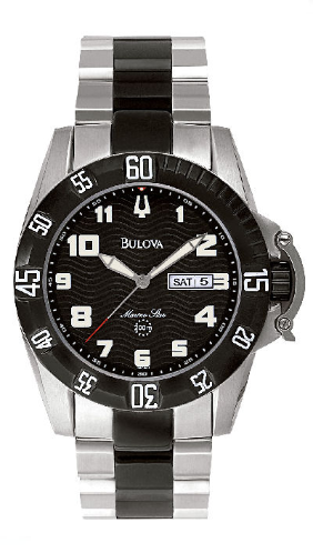Bulova Marine Star Watch - 98C001 Bulova Men's Watches