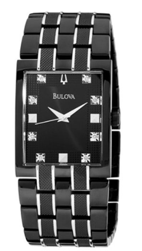 Bulova Watches- Diamond - Bulova Men's Watches 98D111