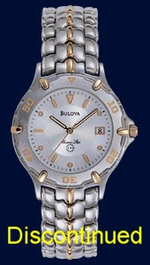 Bulova Marine Star Watch - Bulova Men's Watches 98G62