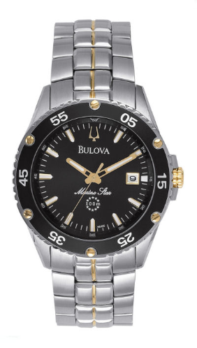 Additional watch band links 1095 for Bulova Men's Marine Star watch 98H35