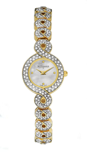 Wittnauer Watches - 12L101 Wittnauer Crystal Ladies Watch