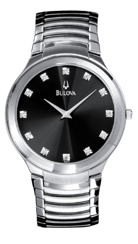 Bulova Watches - Diamond - 96D10 Bulova Men's Watches Additional  Watch Band Link