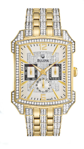 Bulova Watches - Crystal - Bulova Men's Watches 98C109