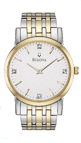 Bulova 98D114 link pins 426 band to watch case