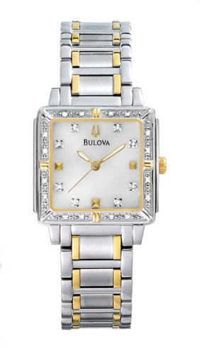 Bulova Watches - 6650- Ladies diamond watches 98R112 Bulova Replacement Watch Band