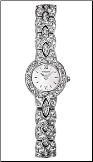 Wittnauer Watches - Wittnauer Krystal Ladies Watch 10L08