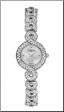 Wittnauer Watches - 10L100 Wittnauer Crystal Ladies Watch-DD