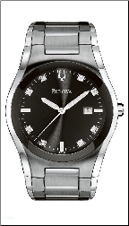 Bulova Watches - Diamond - Allandale Bulova Men's Watches  96D104