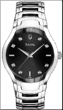 Bulova Watches- Diamond - Bulova Men's Watches 96D117