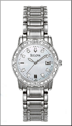 Bulova Watches - Highbridge Ladies diamond watches 96R105
