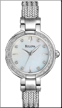 Bulova Watches- Ladies diamond watches 96R177