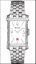 Bulova Watches- Ladies diamond watches 96R187