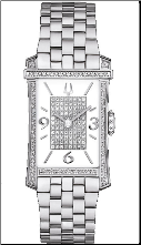 Bulova Watches- Ladies diamond watches 96R188