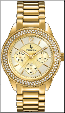 Bulova Watches- Crystal - Bulova Ladies Watch 97N102