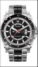 Bulova Watches- Precisionist Chaplain - Bulova Men's Watch 98B180