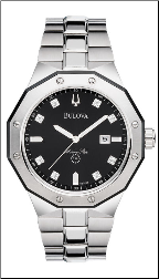 Bulova Marine Star Watch - Bulova Men's Watches 98D103