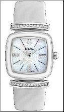 Bulova Watches- Crystal Strap - Bulova Ladies Watch 98L174