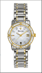Bulova Watches - Highbridge Ladies diamond watches 98R107