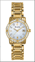 Bulova Watches - Ladies diamond watches 98R165 Extra Watch Band Link