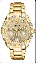 Bulova Watches- Diamond - Bulova Ladies Watch 98R171