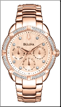 Bulova Watches- Diamond - Bulova Ladies Watch 98R178
