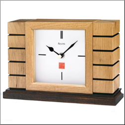 Bulova Clock Frank Lloyd Wright Collection