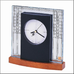 Frank Lloyd Wright Clocks - Bulova Clock.