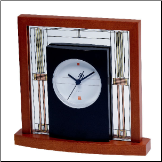 Bulova Clocks - FRANK LLOYD WRIGHT CLOCKS WILLITS TABLE CLOCK