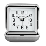 Home & Office Clocks Travel Collection - Bulova Alarm Clock.