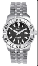 Bulova Marine Star Watch - Bulova Men's Watches 96G77