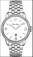 Bulova Watches- Ladies diamond watches 96R183
