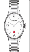 Bulova Watches- Ladies diamond watches 96R192