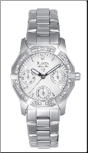 Bulova Marine Star Watch - Bulova Ladies Watch 96R53