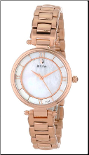 Bulova Watches- Strap - 97L124 Bulova Ladies Watch