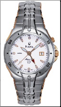 Bulova Marine Star Watch - Bulova Men's Watches 98H01