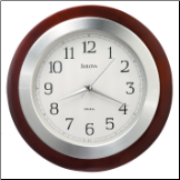 Home & Office Clocks Contemporary Collection - Bulova Clock.